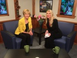 On the set with Debbie Cook and host for REFLECTIONS of Former Mayors